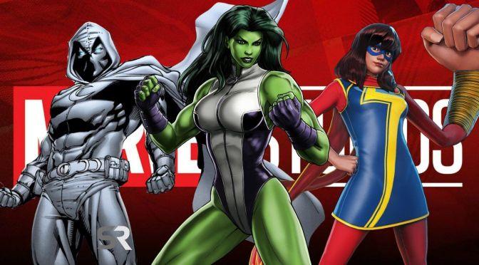Disney + | Novas séries originais Marvel são anunciadas na D23