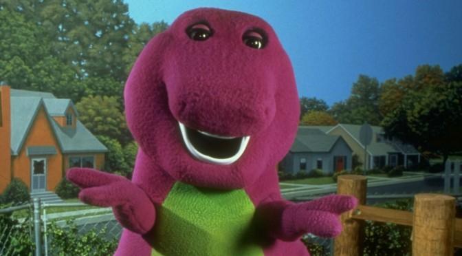 Barney irá ganhar um filme!