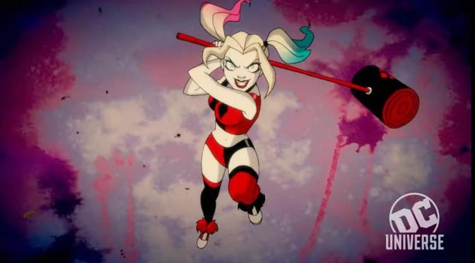 Série animada da Arlequina ganha data de estreia
