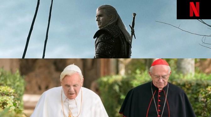 'The Witcher' e 'Dois Papas' estreiam hoje na Netflix