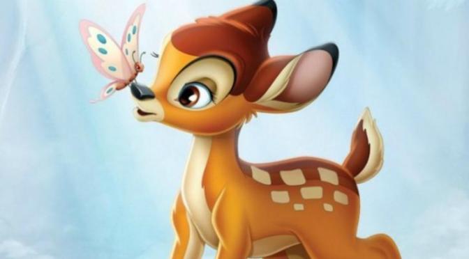 Disney irá produzir live-action remake de Bambi