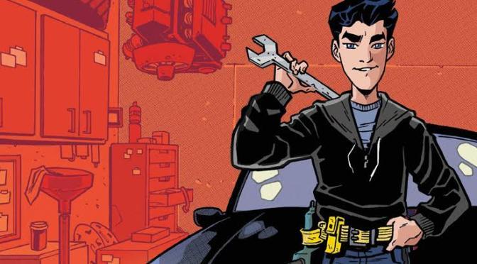 Batman: Overdrive introduz um novo membro a Bat-família