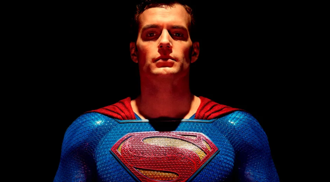 Arte de fã imagina Henry Cavill com visual clássico do Superman