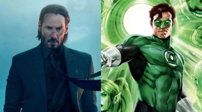 Keanu Reevs se torna Lanterna Verde e Sinestro em arte fantástica de fã; confira!