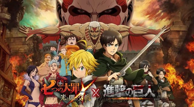 Attack on Titan e Nanatsu no Taizai, o crossover inesperado; saiba mais!