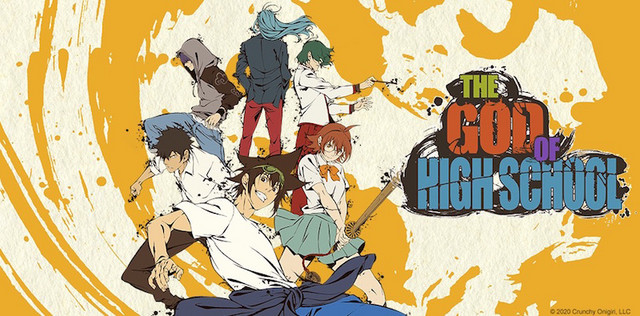 Mais um título original da Crunchyroll: o anime The God of High School