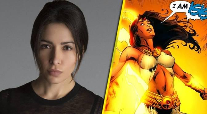Adão Negro | Sarah Shahi pode interpretar Ísis no filme