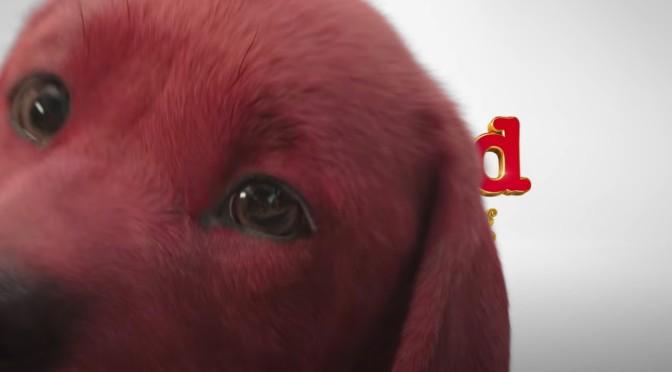 Clifford, O Gigante Cão Vermelho ganha primeiro teaser; veja
