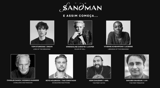 Elenco de Sandman é revelado pela Netflix