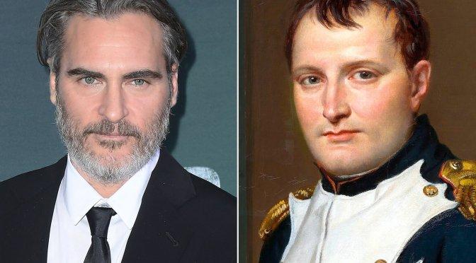 Joaquin Phoenix vai interpretar Napoleão em filme de Ridley Scott
