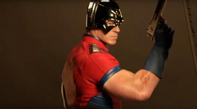 Pacificador | John Cena e James Gunn são vistos em novas fotos do set