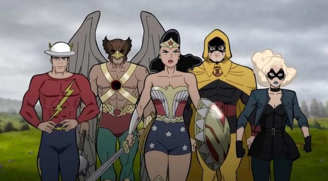 Sociedade da Justiça | Nova animação da DC ganha trailer; veja