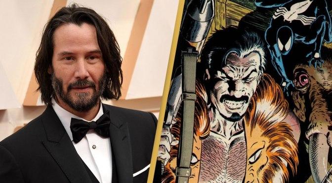Rumor: Keanu Reeves pode ser o Kraven em novo filme