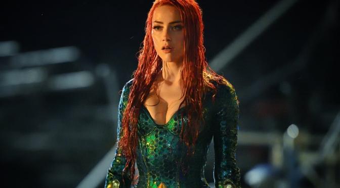 Jornalista nega rumores sobre demissão de Amber Heard em Aquaman 2