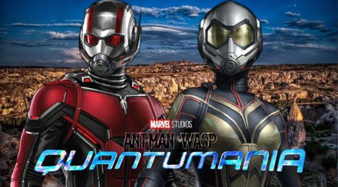 Produção de Homem-Formiga e a Vespa: Quantumânia já começou