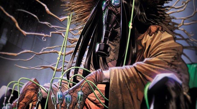 Espantalho ganha um novo visual assustador para os quadrinhos