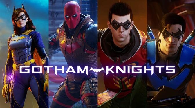 Gotham Knights é adiado para 2022