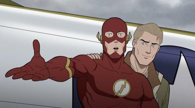 Flash volta no tempo em novo clipe de Sociedade da Justiça