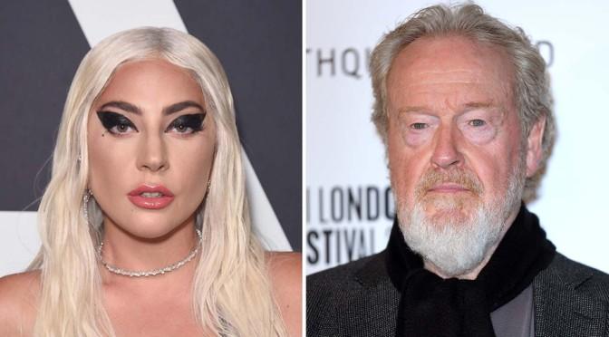 Adam Driver e Lady Gaga estampam primeira foto de House of Gucci