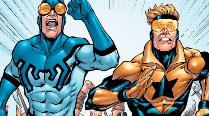 Gladiador Dourado e Besouro Azul terão série em Infinite Frontier