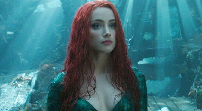 Amber Heard já está treinando para Aquaman 2
