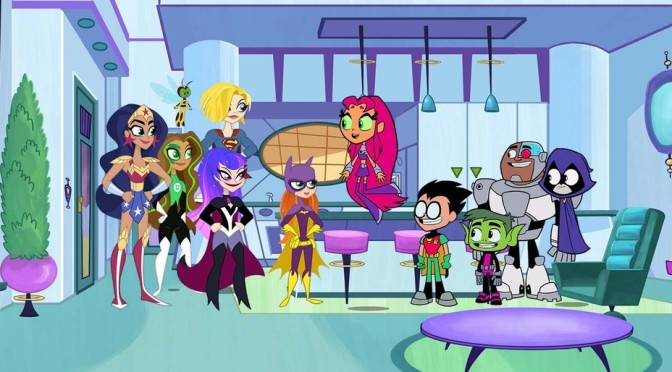 DC Super Hero Girls e Jovens Titãs em Ação! se reúnem em episódio especial