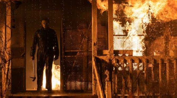 Michael Myers estampa nova imagem de Halloween Kills