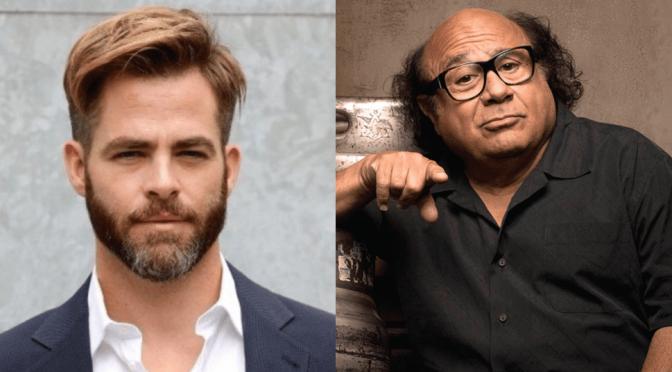 Poolman | Chris Pine irá dirigir e estrelar novo filme com Danny DeVito
