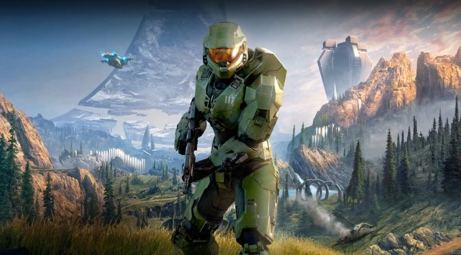 Confira a nova arte de Halo Infinite