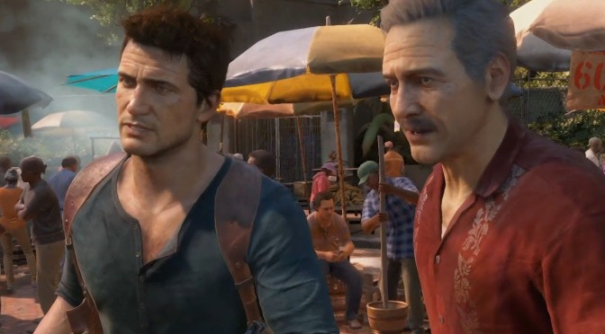 Nate e Sully exploram local histórico em nova imagem de Uncharted