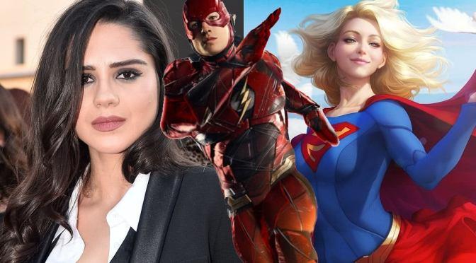 The Flash | Filmagens externas revelam Sasha Calle como Supergirl e muito mais