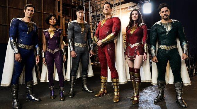 Shazam 2 | Diretor divulga novos trajes da Família Shazam