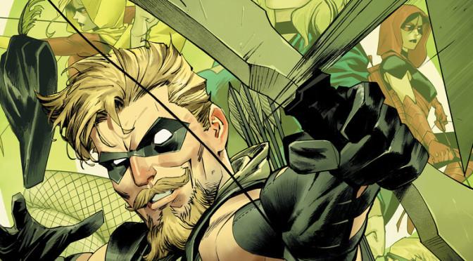 DC divulga prévia de história do Arqueiro Verde com Jeff Lemire