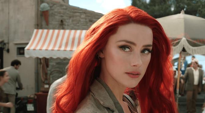 Aquaman 2 | Amber Heard cumpre quarentena e recebe carta de diretor
