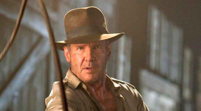Harrison Ford é visto com o traje clássico no set de Indiana Jones 5
