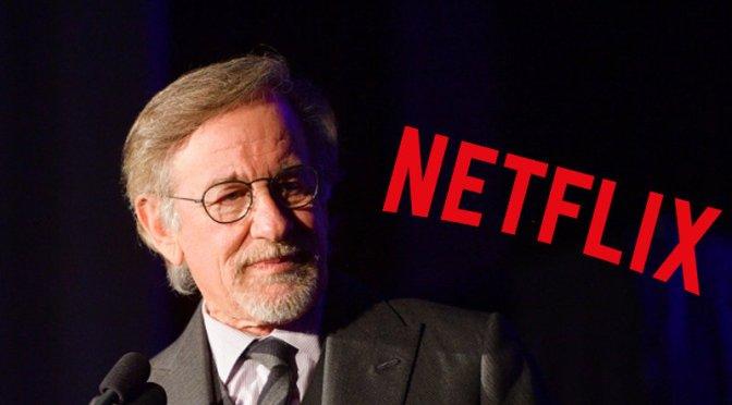 Produtora de Steven Spielberg fecha acordo com a Netflix
