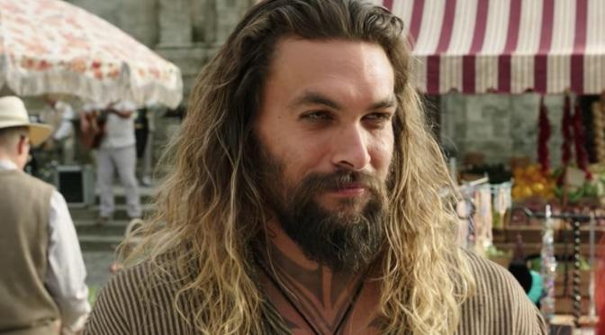 Jason Momoa se prepara para as filmagens de Aquaman 2
