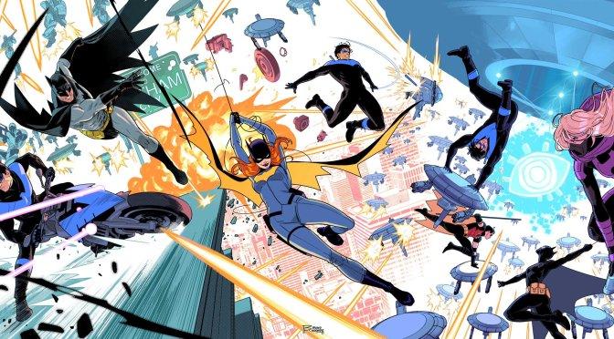 Bat-Família está reunida nas capas de Asa Noturna #84, 85 & 86