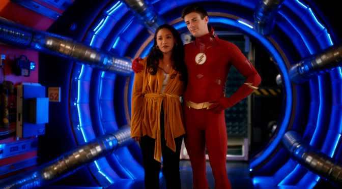 The Flash | Barry e Iris renovam votos em imagens da season finale
