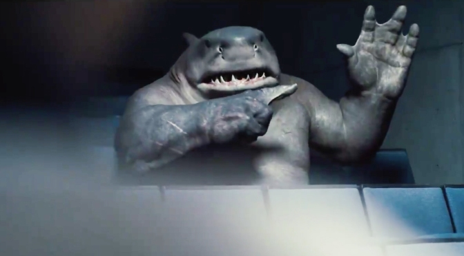 O Esquadrão Suicida ganha novo teaser focado no Tubarão-Rei