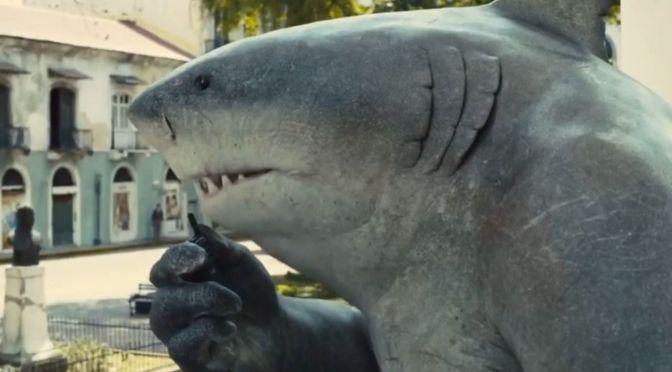 Tubarão-Rei é foco em novo teaser de O Esquadrão Suicida