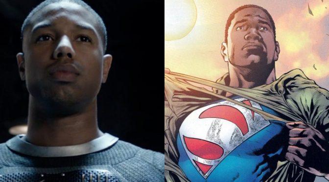 Michael B. Jordan está desenvolvendo minissérie do Superman para a HBO Max
