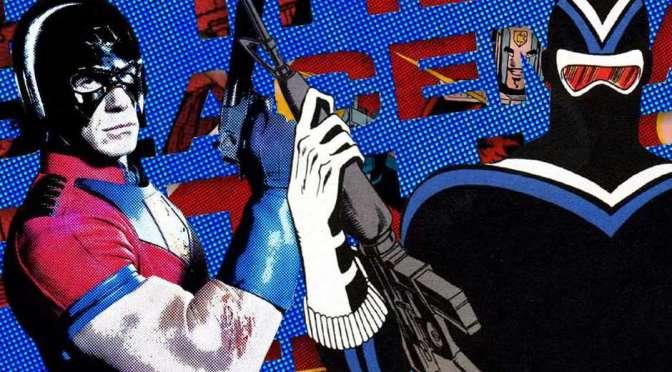 Foto dos bastidores de Pacificador revela parte do traje do Vigilante