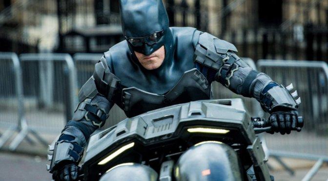 The Flash   Novas imagens destacam Batman de Ben Affleck no set