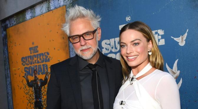 Margot Robbie ficou surpresa por saber que James Gunn iria dirigir O Esquadrão Suicida